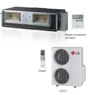 Канальный кондиционер LG UB36/UU37